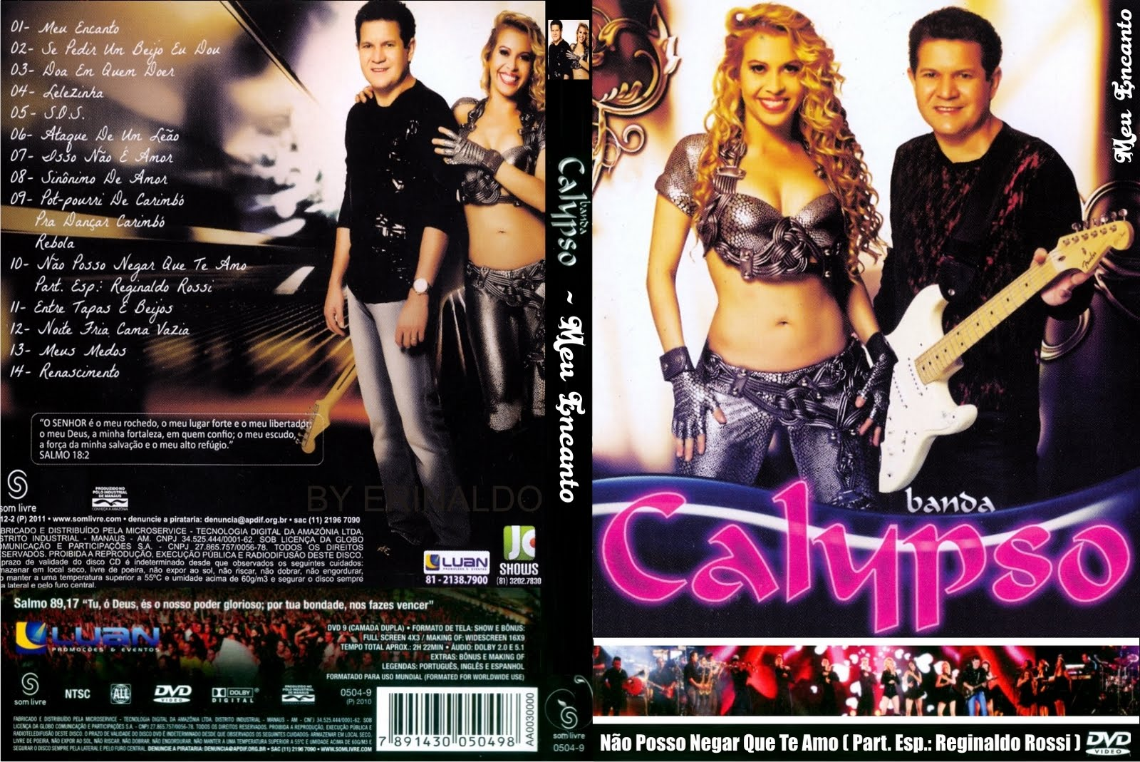 ANGOLA BANDA NOVO BAIXAR NA DVD CALYPSO